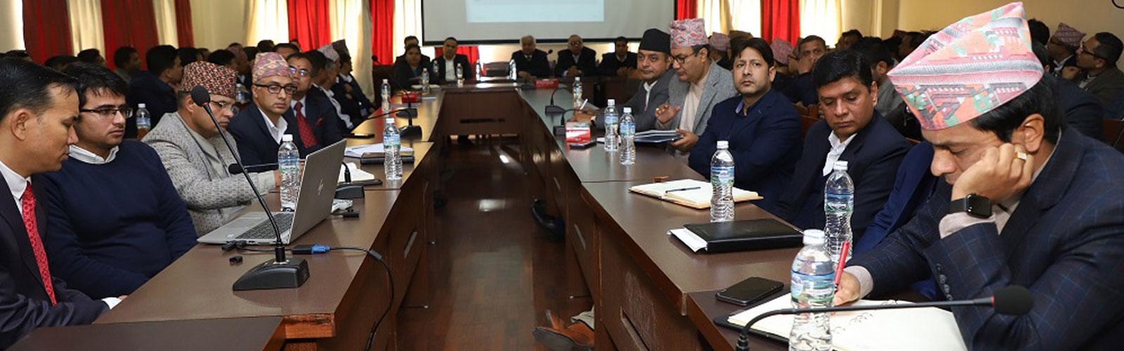 Inauguration of Bio-metric Taxpayer Registration System